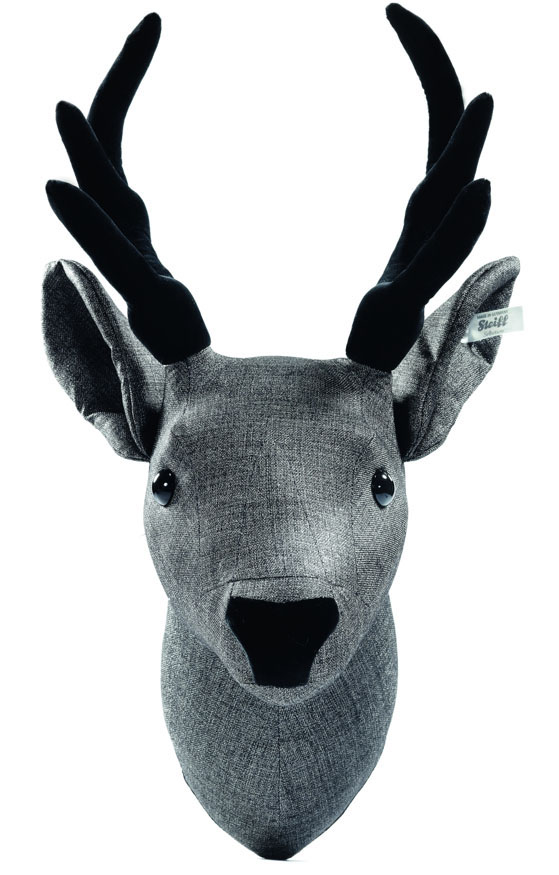 Steiff deer head
