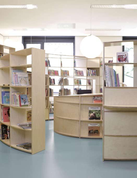 Spiral library by studio dave keune - HabitatKid blog