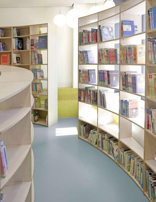 Spiral library 2 by studio dave keune - HabitatKid blog