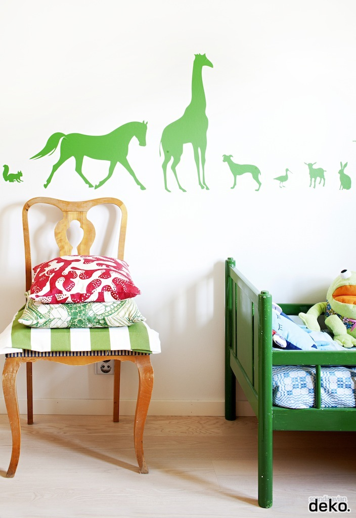 Green kid room - HabitatKid blog