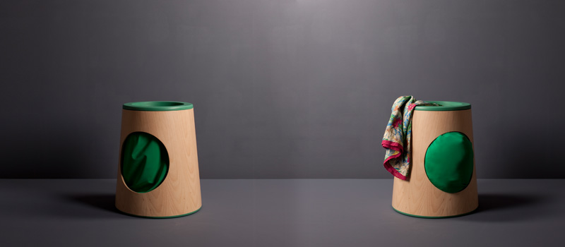 Interactive children's laundry basket :: HabitatKid Blog