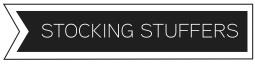 Stocking stuffers header