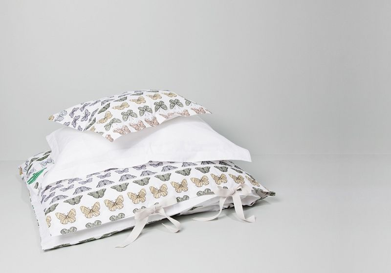 Butterfly bedding from garbo & friends - HabitatKid blog
