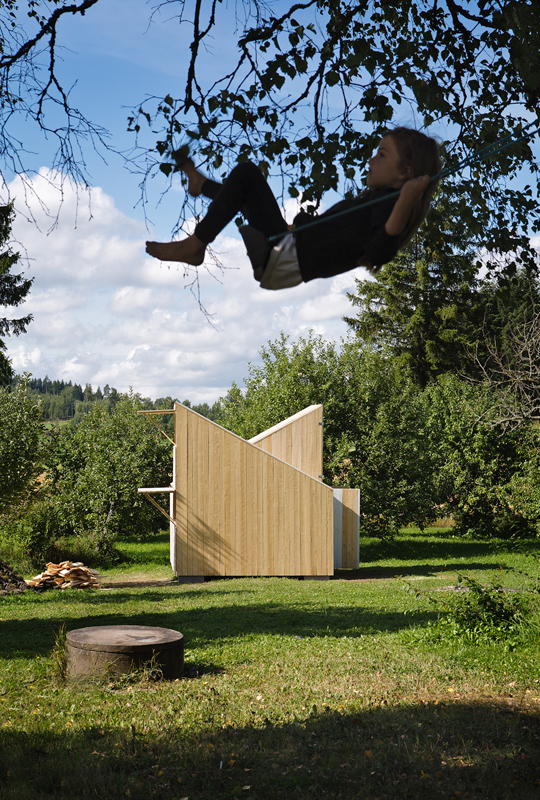 Finnish playhouse - HabitatKid blog