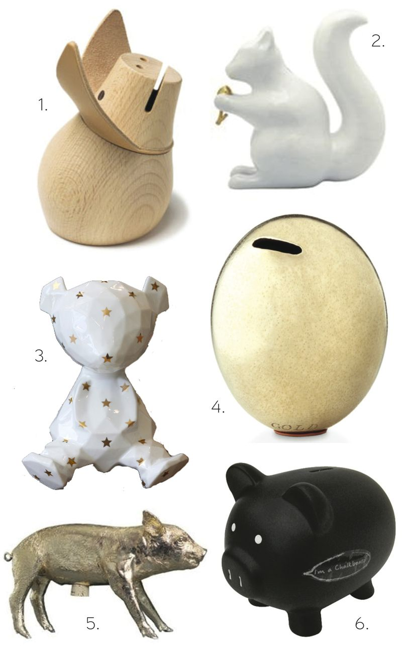 Piggy Banks - HabitatKid blog