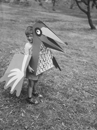 Eames paper costumes - HabitatKid blog