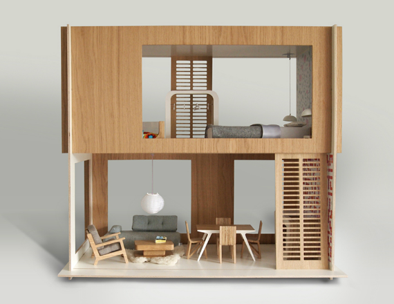 Mod dollhouse by miniio - HabitatKid blog