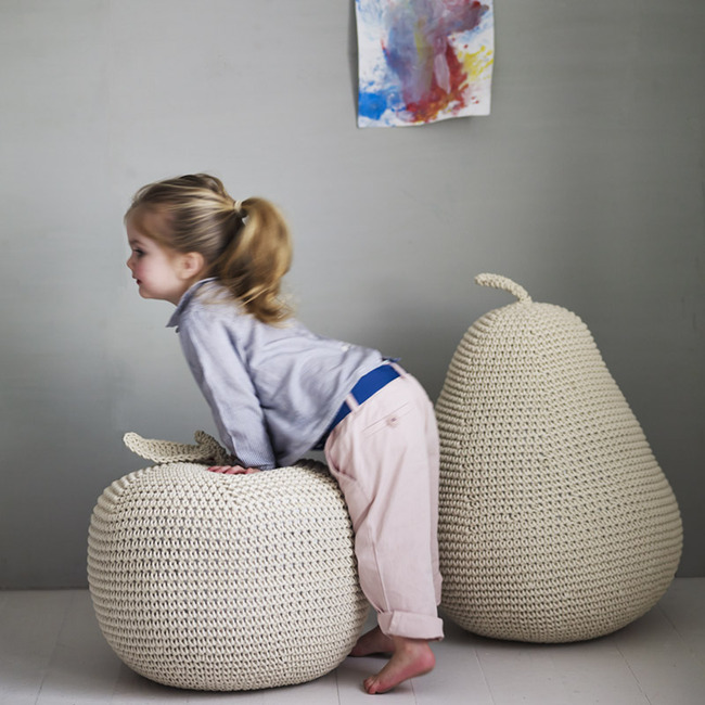 Rowan and wren giant pouffes (2)