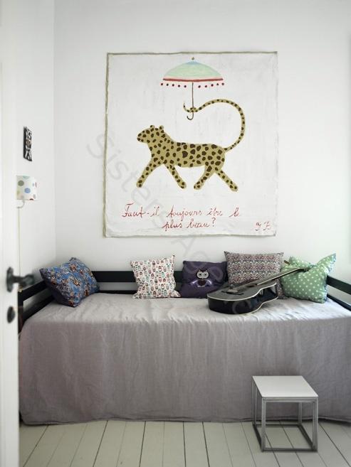 Grey and white boy room - HabitatKid blog