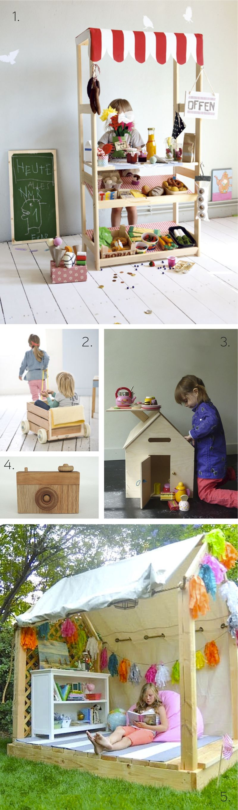DIY Wooden Projects for Kids - HabitatKid blog