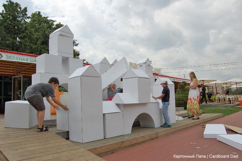 Cardboard village - HabitatKid blog (2)
