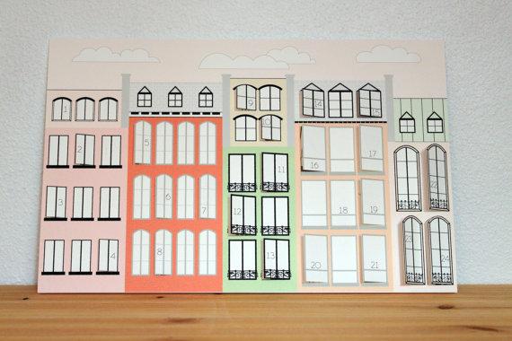Paris advent calendar - HabitatKid blog