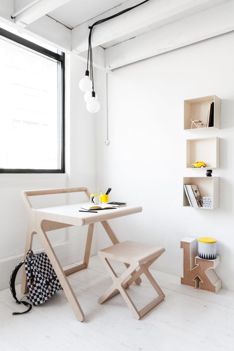 Rafa-kids modern K desk - HabitatKid blog